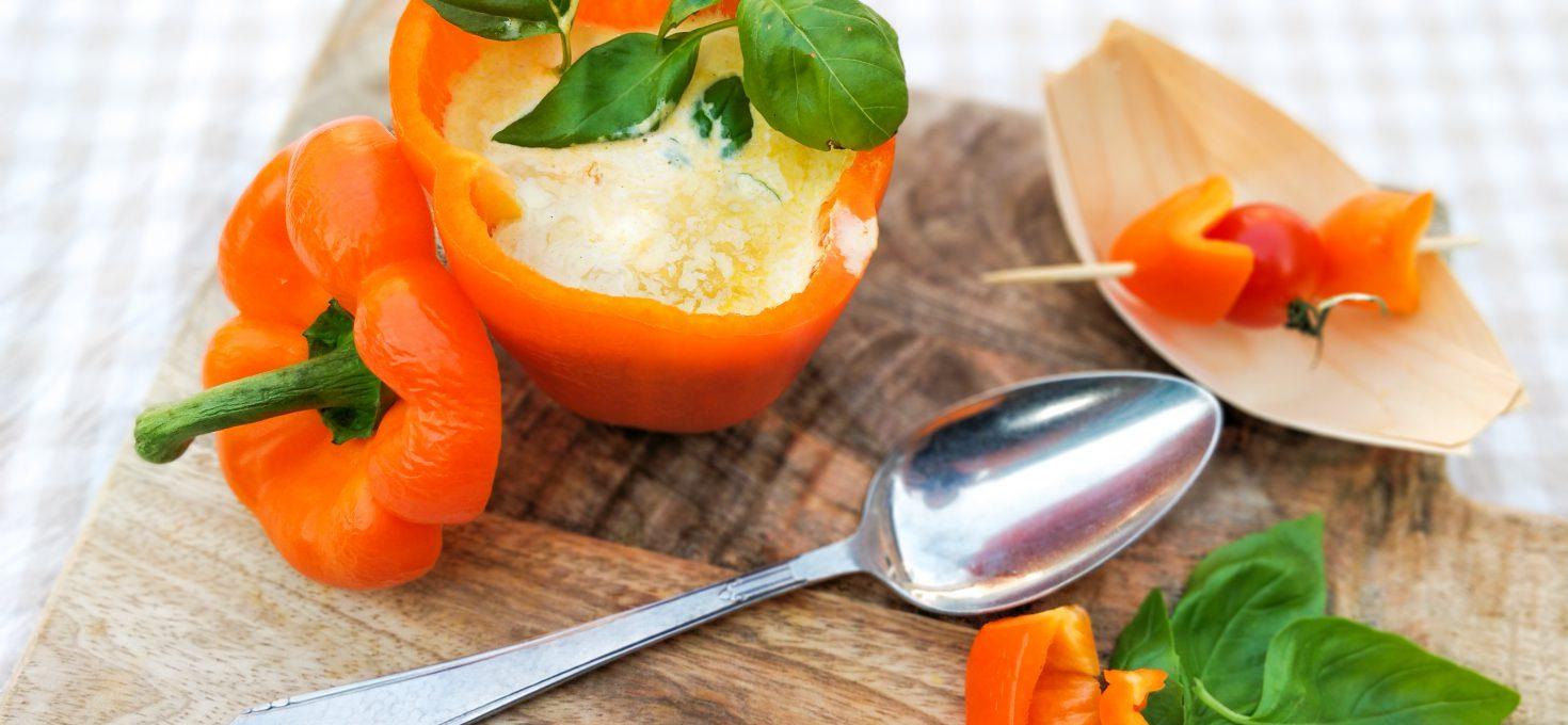 Oranje Paprikasoep