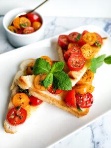 Bruschetta-toast